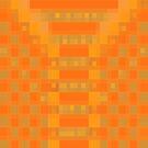 Orange Checks by Betty Mackey