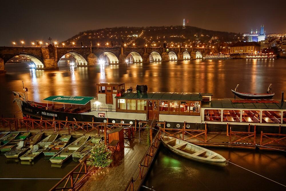Charles Bridge, Prague, Czech Republic by Petr Klapper
