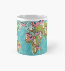 Kanna Dragon Maid all over the globe Mug