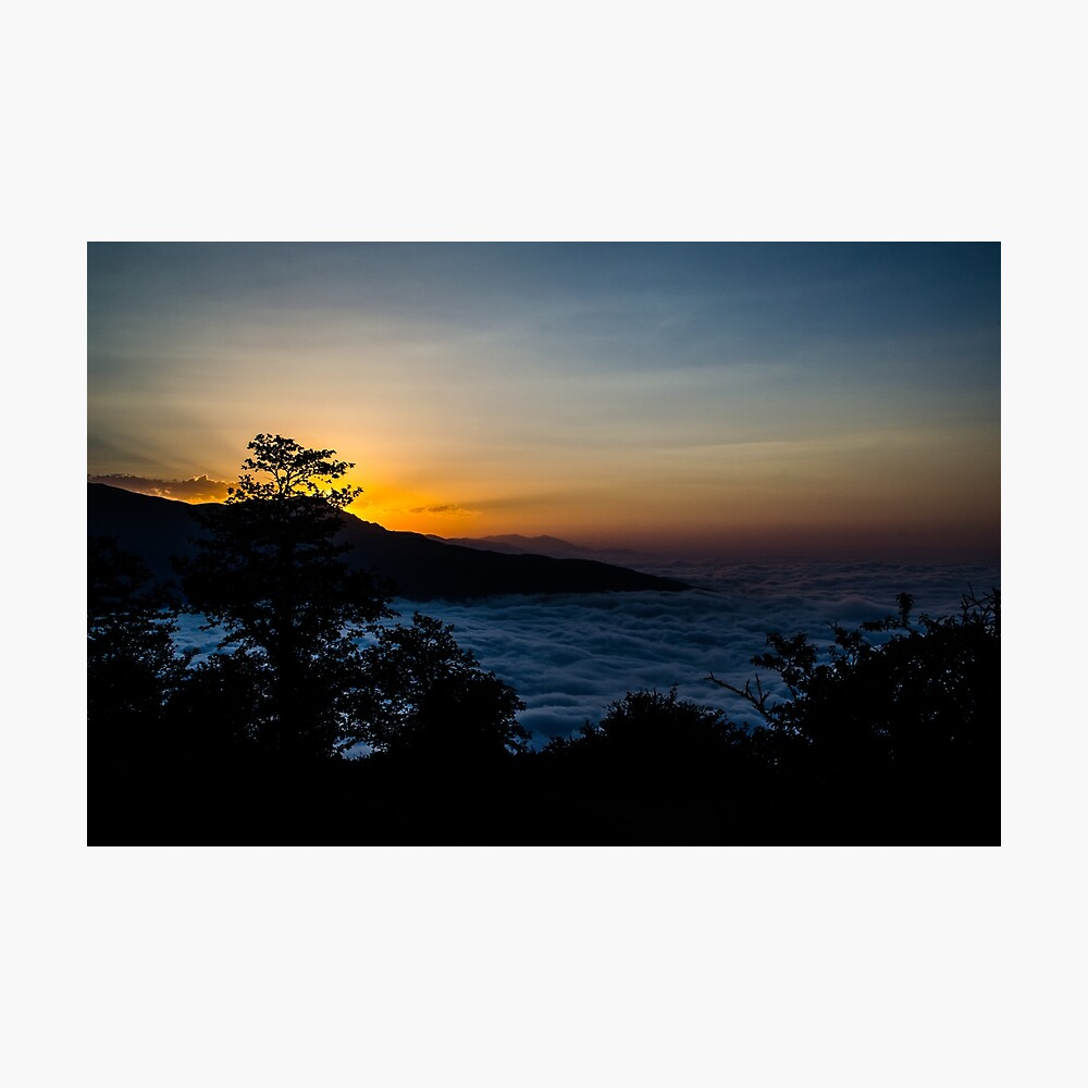 Sunset in Mazichal Photographic Print