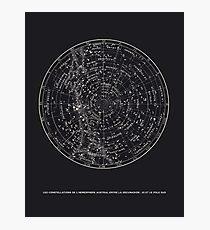 Constellation Star Map Photographic Print