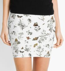 Insect Toile Mini Skirt