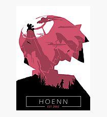 Hoenn Region- Ruby Version. Photographic Print