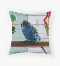 The Mighty Quintin Throw Pillow