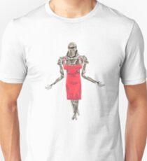 Red Dress Cylon T-Shirt