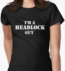 Headlock Guy Women's Fitted T-Shirt