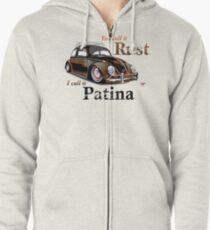 It's Patina Zipped Hoodie