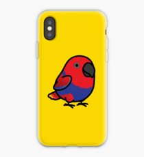 Chubby Female Eclectus Parrot iPhone Case