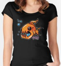 Chompy Fish Women's Fitted Scoop T-Shirt