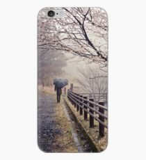 Strolling in the Rain iPhone Case