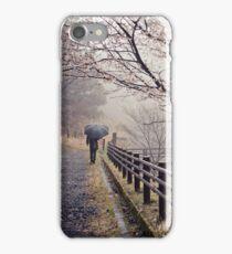 Strolling in the Rain iPhone Case/Skin