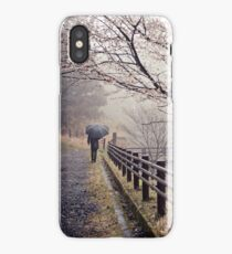 Strolling in the Rain iPhone Case/Skin
