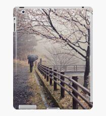 Strolling in the Rain iPad Case/Skin