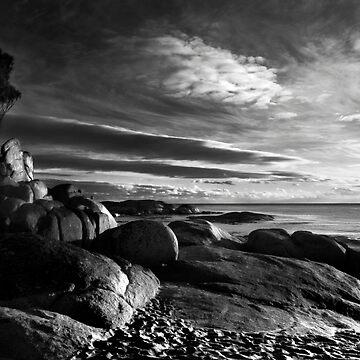 """Textured Tassie"" Bay of Fires, Tasmania. by Ohlordi"