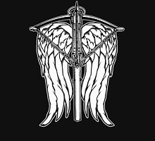 Angel Wings and Crossbow (Clean) Unisex T-Shirt