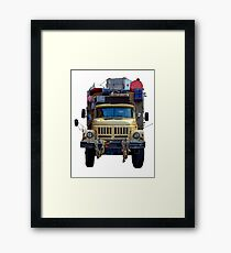 Desert Expedition Truck Framed Print