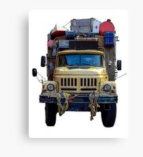 Desert Expedition Truck Canvas Print