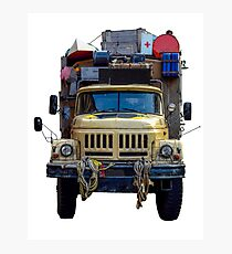 Desert Expedition Truck Photographic Print