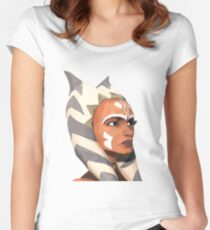 ahsoka tano Women's Fitted Scoop T-Shirt