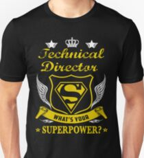 TECHNICAL DIRECTOR SOLVE PROBLEMS DESIGN Unisex T-Shirt