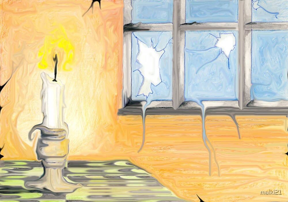 The Candle by malki21