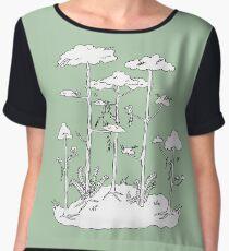 Rainforest Women's Chiffon Top