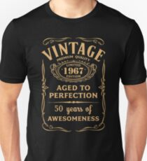 Golden Vintage Limited 1967 Edition - 50th Birthday Gift T-Shirt