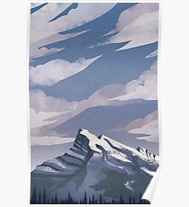 Mountain Light Poster