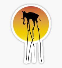 Dali elephant Sticker