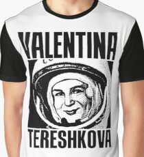 Valentina Tereshkova-3 Graphic T-Shirt