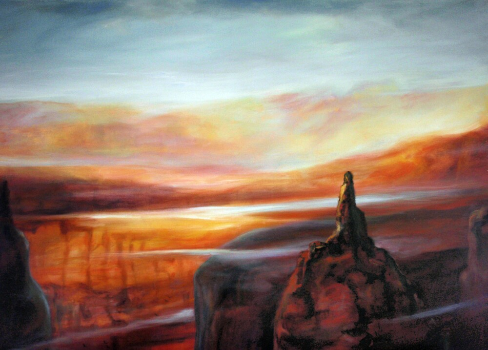 Canyon Sunrise by Lolita Dickinson