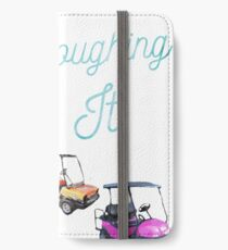 Golf Cart, Camping, RV, tee  iPhone Wallet/Case/Skin