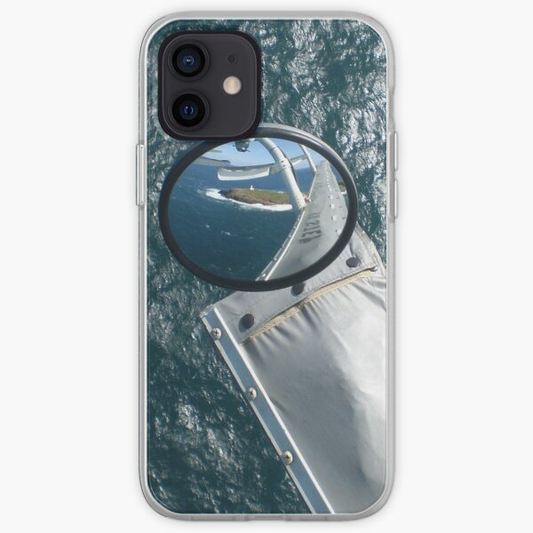 Helicopter Mirror Reflection iPhone Soft Case