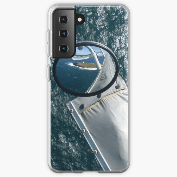 Helicopter Mirror Reflection Samsung Galaxy Soft Case