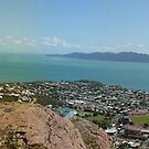 Townsville from the castle ( the other side) by Jayson Gaskell