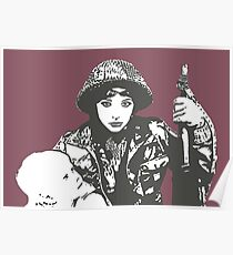 Military Child - Kate Bush Poster