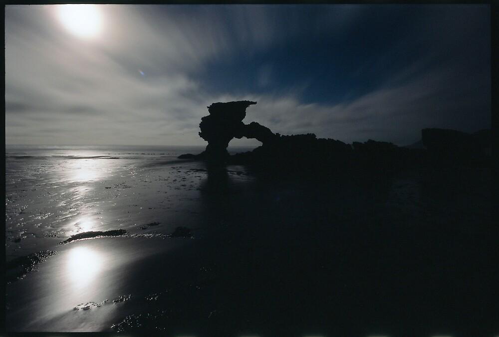 Moonlight  seascape by matt mackay