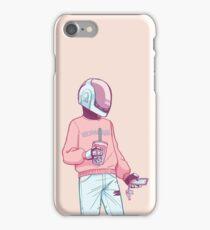 Vaporwave Guyman iPhone Case/Skin