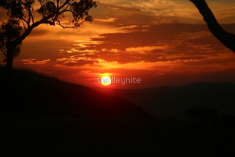 Huon Sunset by Michelle Ryan