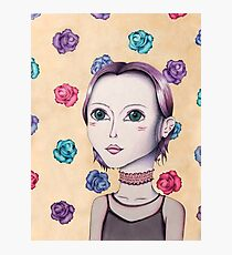 Other Worldly Girl Photographic Print