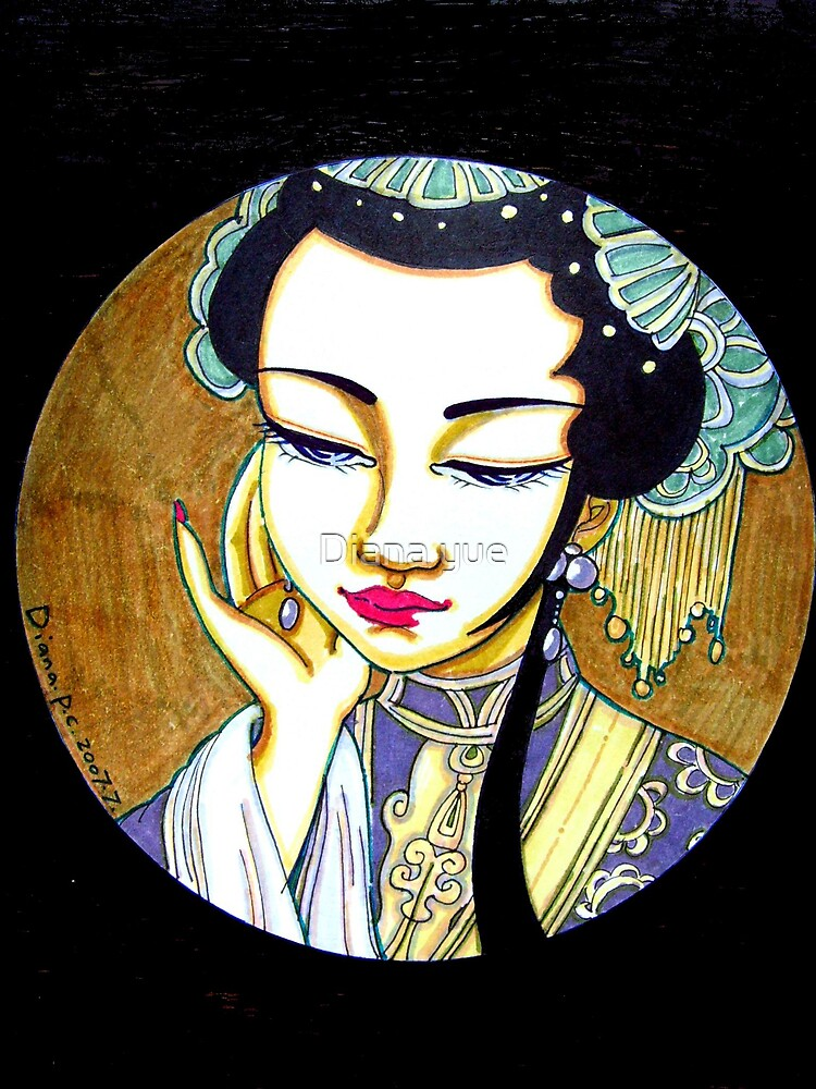 character of chinese opera1 by Diana yue