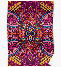 Color & Curvy Art - 11 Poster