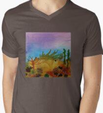 Quiet Coral Reef Men's V-Neck T-Shirt