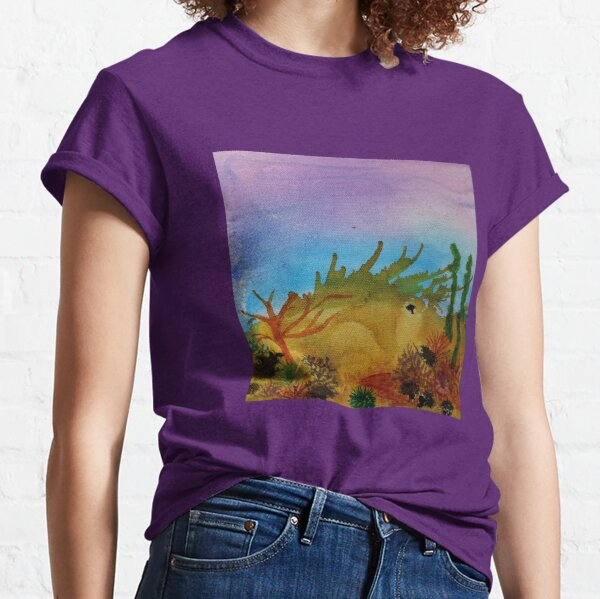 Quiet Coral Reef Classic T-Shirt