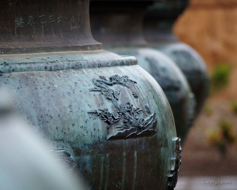 Brazier at the palace in Hue by SunnyJames