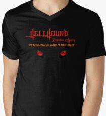 Hellhound Detective Agency Mens V-Neck T-Shirt