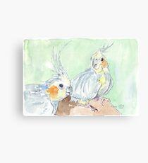 Kiki & Tweeti Canvas Print