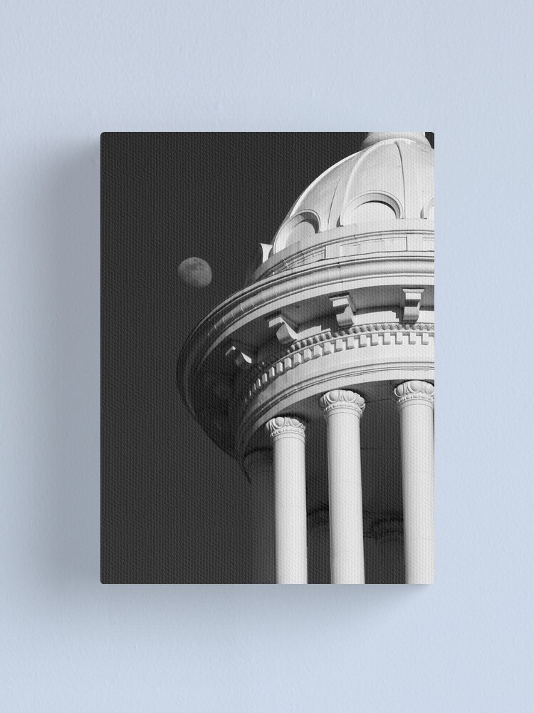 Alternate view of Moon Dome Canvas Print