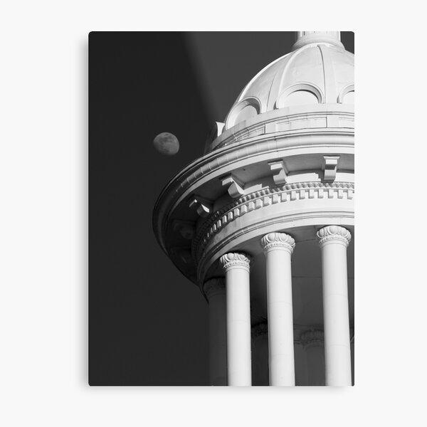 Moon Dome Metal Print