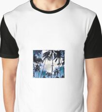 Swaying Palms (Small) Graphic T-Shirt